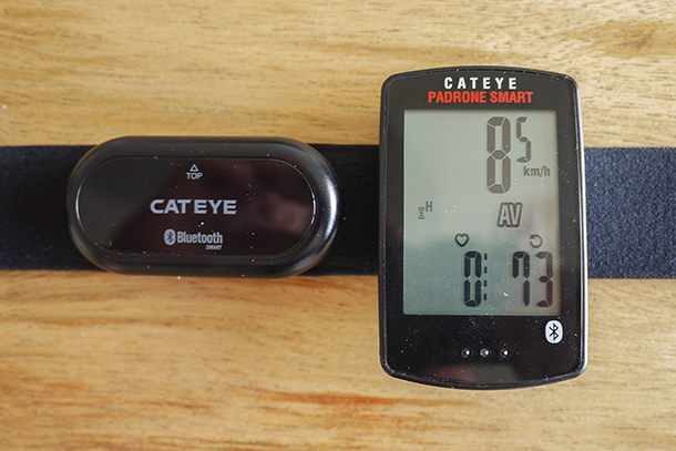 Cateye Padrone Smart computer that connects to your (smart)phone | See the full review on Racefietsblog.nl