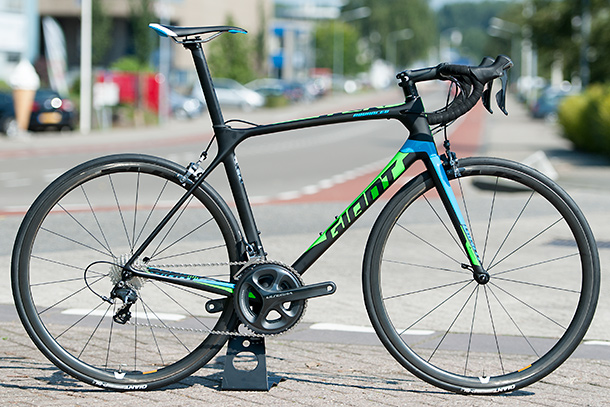 Racefietsblog test: Giant TCR Advanced Pro 1 2016
