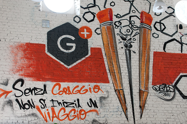 Vittoria-G+-muurschildering