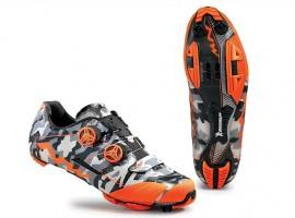 Opvallende camouflage schoenen van Northwave