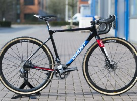 De Giant TCX Advanced van Lars van der Haar