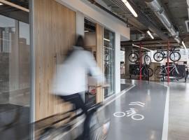 SRAM hoofdkantoor: Het ultieme kantoor voor de fietsliefhebber