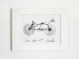 Een fiets tekenen is best moeilijk…