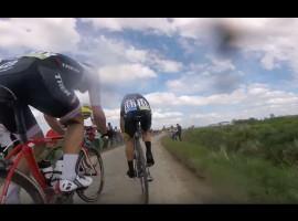 Parijs Roubaix 2016 vanaf de racefiets – video
