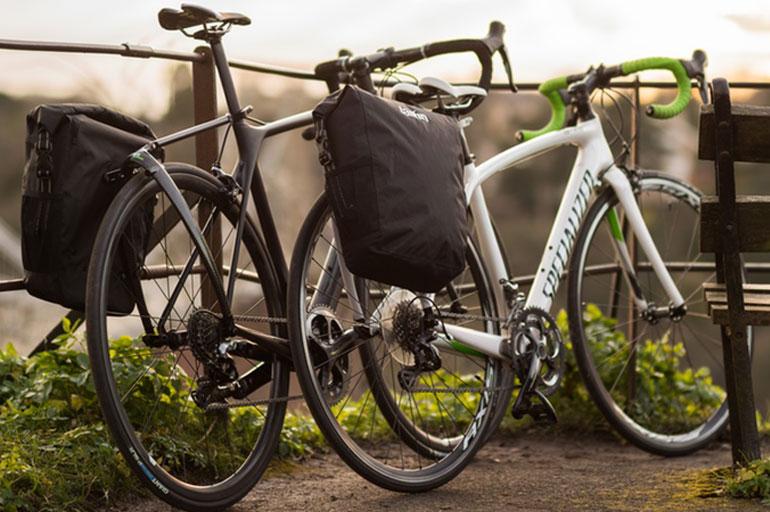 voor bagagedrager fiets
