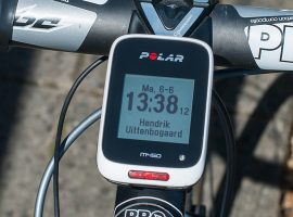 Review: Polar M450 GPS fietscomputer