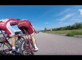 Laatste kilometers gaan het hardst – video