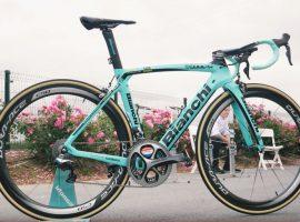 De nieuwe 2017 Bianchi Oltre XR4 CV van Dylan Groenewegen