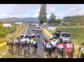 Wind, waaiers en Sagan tijdens de 11e etappe TDF