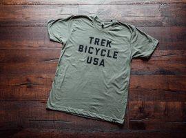 Frisse nieuwe t-shirts van Trek