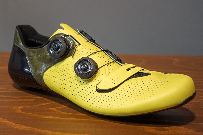 Specialized-SW-Road-shoes-yelllow