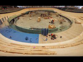 Time-lapse van het Queensland Velodrome