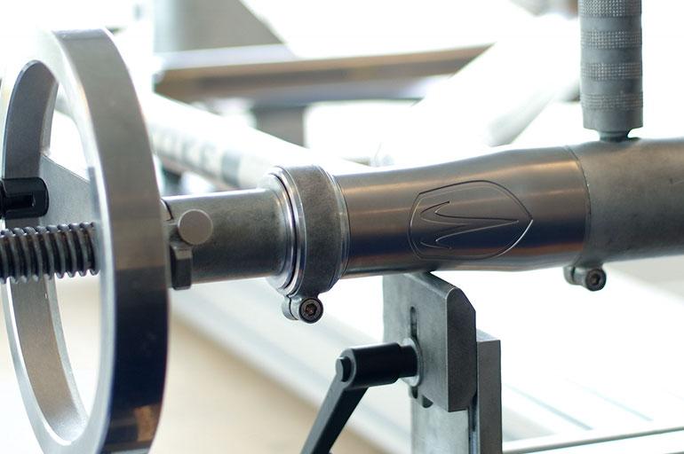 titanium-fiets