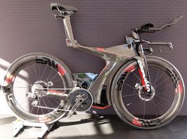 Nieuwe Cervélo P5X triathlonfiets