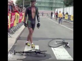 Gooien met je fiets; alleen wanneer je hem geleend hebt