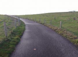 Eindelijk een berg in Noord-Nederland om overheen te fietsen