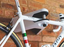 Airlok: met stijl je fiets ophangen en afsluiten