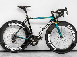 De nieuwe Argon18 fiets van Astana voor 2017