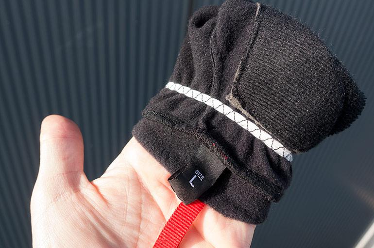 Rose Thermo Fleece handschoenen DSC00342