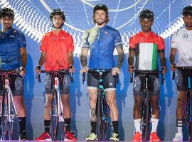Nieuw design Castelli shirts voor Dubai Tour 2017
