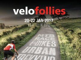 Fietsbeurs Velofollies van 20-22 januari 2017 te Kortrijk