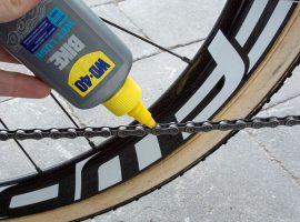 Review: WD-40 Bike wet lube + weggeefactie