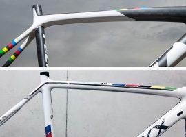 De fietsen van de wereldkampioenen cyclocross