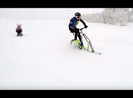 Voor extra plezier neem je je fixie ook mee op wintersport – video