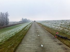 Rondje IJsselmeer 270 km – Monsterjam 29 december 2016