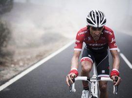 Contador in het rood zwart is toch even wennen