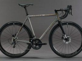 No22 handgemaakte titanium racefietsen