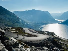 Het is mooi fietsen in Noorwegen met Haute Route
