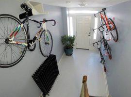 Handig je racefiets aan de muur hangen met DaHÄNGER DAN
