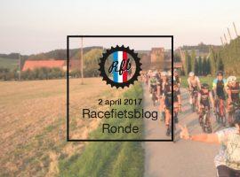 Racefietsblog Ronde, fiets jij mee op 2 april 2017
