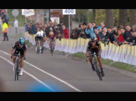 In tijden niet zo'n spannende Amstel Gold Race gezien – video