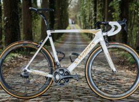 Boonen rijdt laatste Parijs-Roubaix op zijn speciale Roubaix