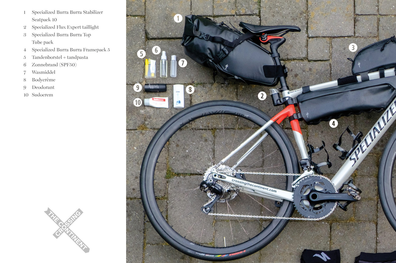 Ik fiets de Transcontinental Race en ik neem mee