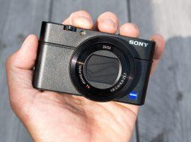 Niet voor de fiets: Sony RX100 Mark IV compact camera