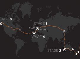 Marc Beaumont fietst in 80 dagen rond de wereld