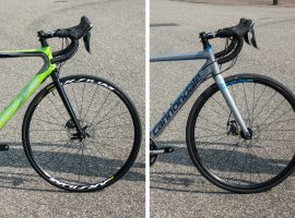 Review: Cannondale Supersix Evo Hi-Mod Disc vs Caad Optimo Disc