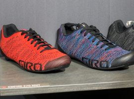 Giro laat nieuwe Knit schoenencollectie en Vanquish helm zien op Eurobike 2017
