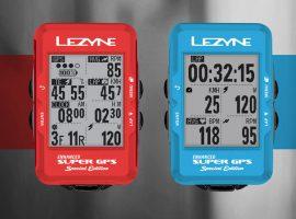 Special Edition van Lezyne's Super GPS