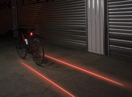 De Lezyne Laser Drive lamp geeft futuristisch licht