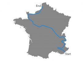 Race Across France in 7 dagen is net zo zwaar als het klinkt