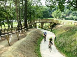 Het crossseizoen openen bij het Sven Nys Cycling Center