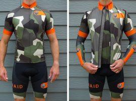Komraid Splinter kledingset in camouflage print