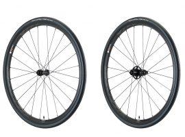 Vittoria's carbon Qurano en alu Elusion wielen nu ook voor schijfremmen