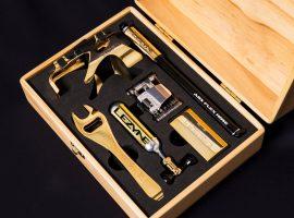18 karaats gouden tool kit van Lezyne