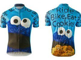 Sesamstraat wielershirts zijn gewoon leuk!