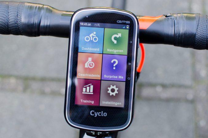Review: Mio Cyclo 605 HC GPS fietscomputer